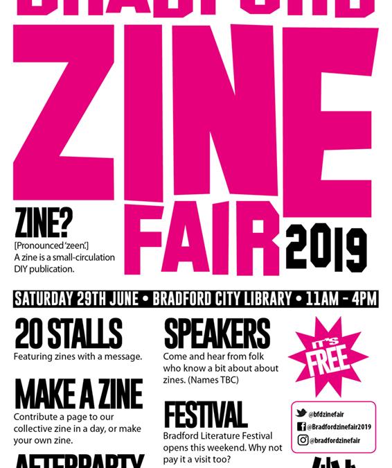 Bradford Zine Fair 2019