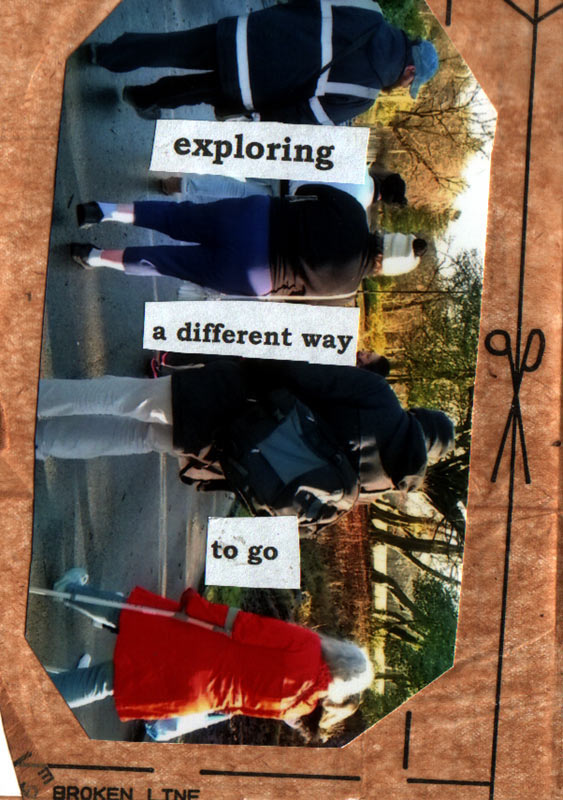 Circle of Friends Go Walking Zine - Page 8